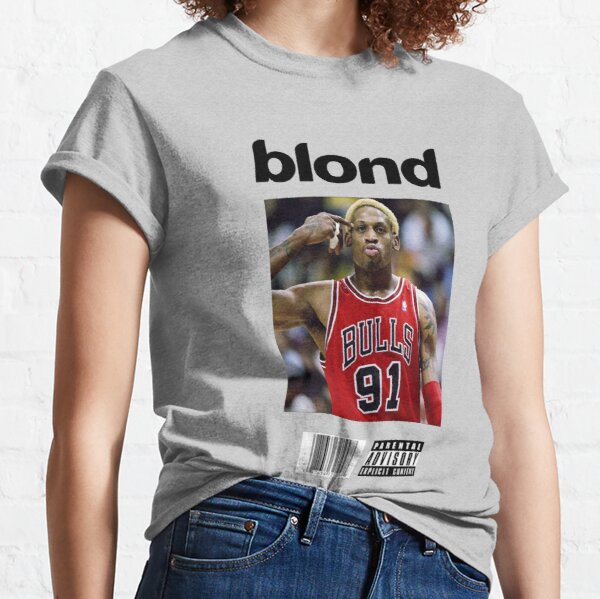 Dennis Rodman Bulls Blonde Cover Art Classic T-Shirt