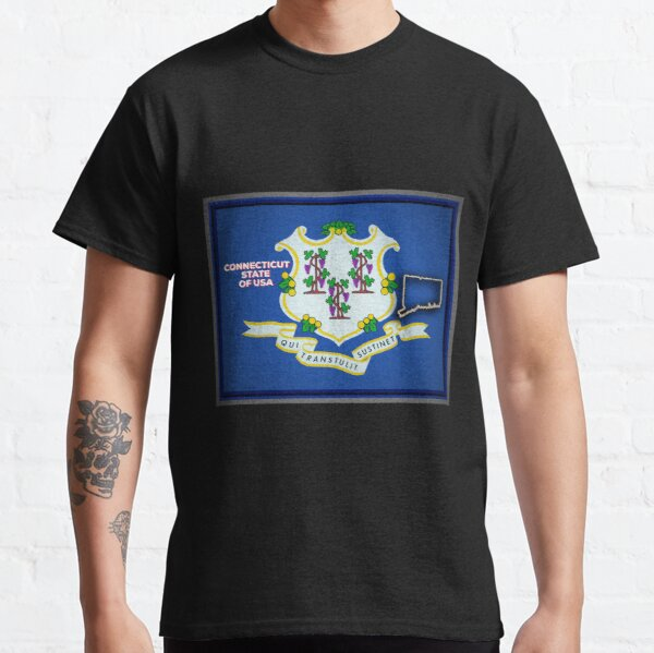 Connecticut State of The USA Classic T-Shirt