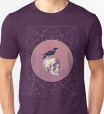 Crow and Skull Collage T-Shirt