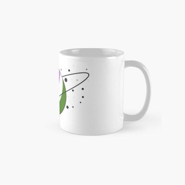 Genderqueer Pride Planet Classic Mug