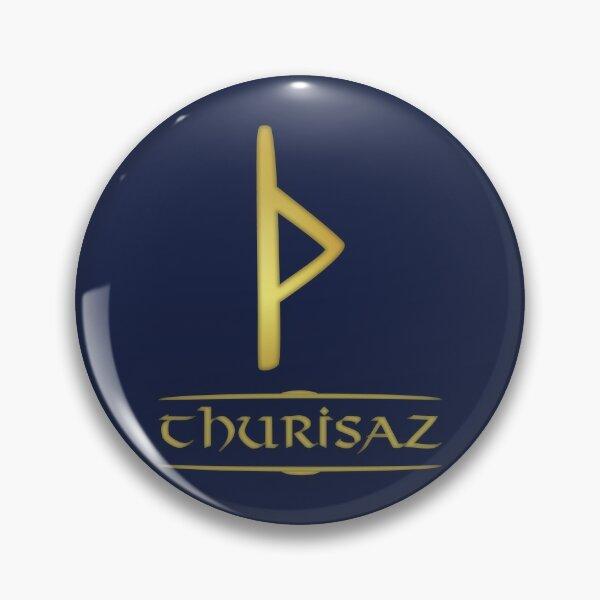 Thurisaz - Rune / Älteres Futhark / Serie aus 24 Runen Button