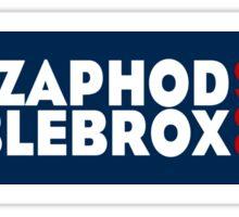 Zaphod Beeblebrox 2016 (Alt) Sticker