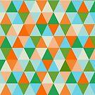 Beach triangles by Morag Anderson