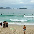 Copacabana beach, Rio by Maggie Hegarty
