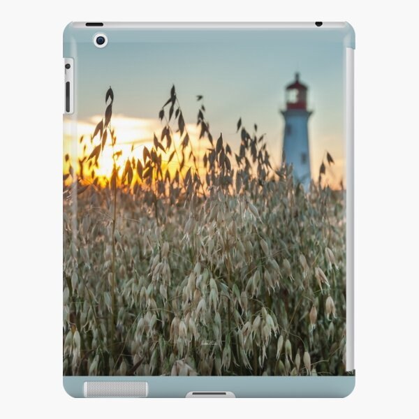 The lighthouse of Anse at the hut at sunset iPad Snap Case