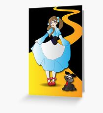 Twisted Tales - Wizard of OZ Greeting Card