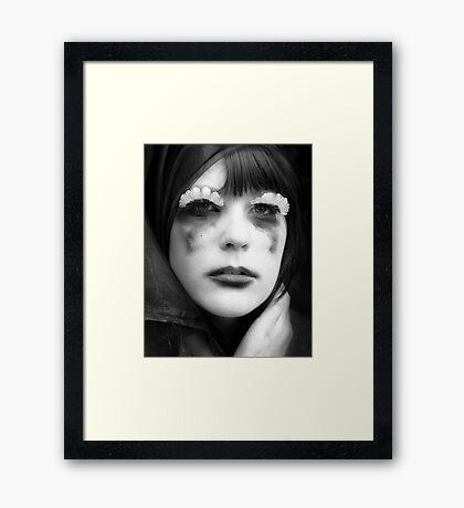 Frustrated Framed Print