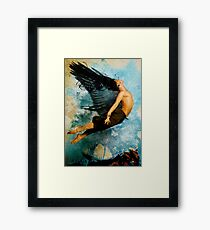 Flight of Icarus Framed Print