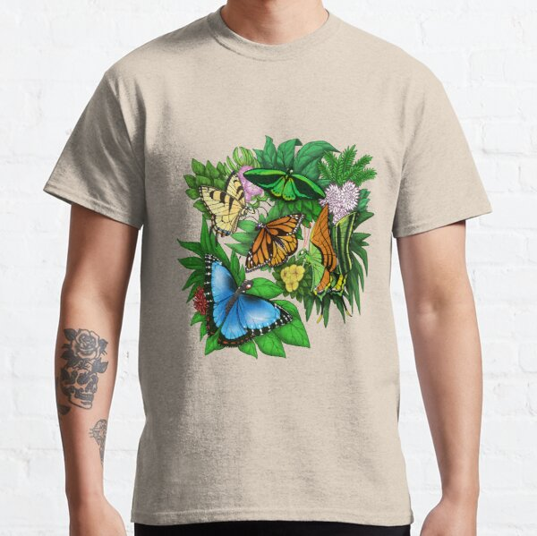 Butterflies All Over Classic T-Shirt