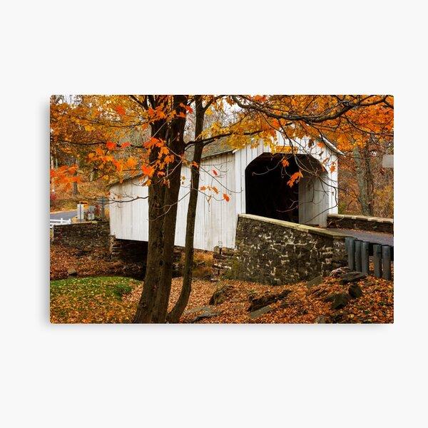 Loux Covered Bridge Canvas Print