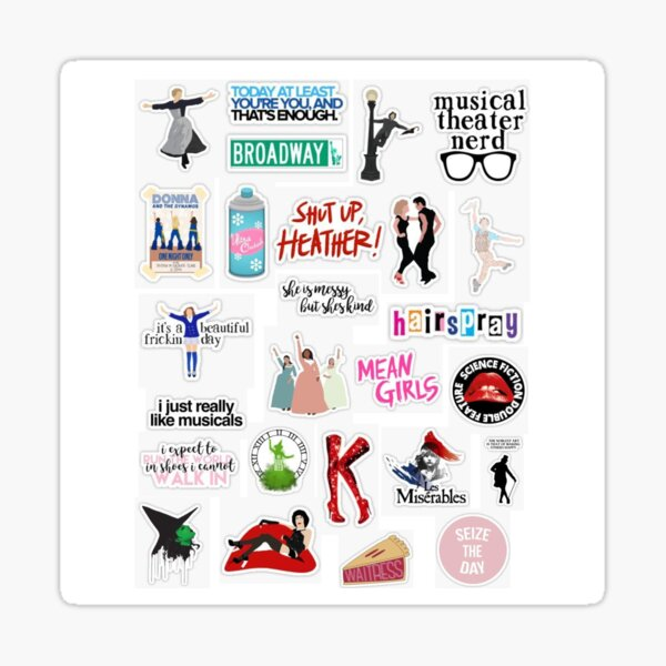 Musical Sticker Pack Sticker