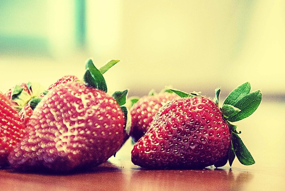 Strawberries by Carol Knudsen