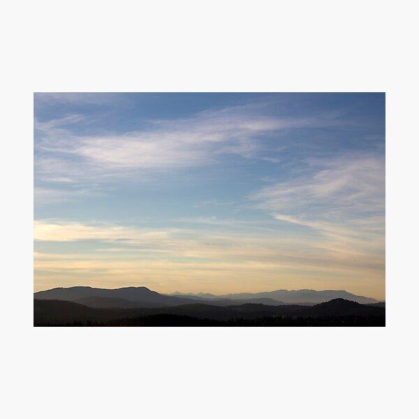 BC Skies Photographic Print