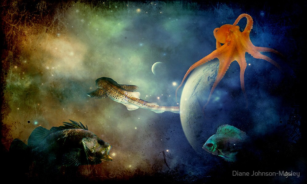 I Wonder If Fish Dream by Diane Johnson-Mosley