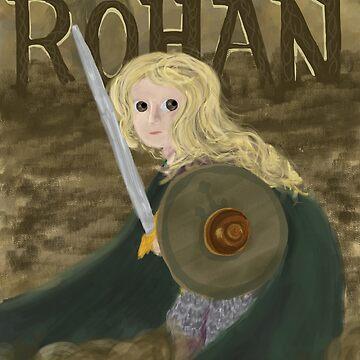Éowyn the Brave by sunlitlake