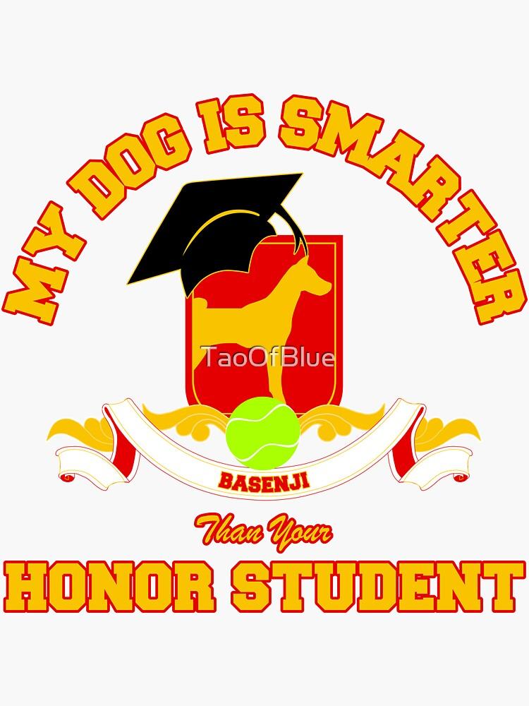 Honor Student - Basenji by TaoOfBlue