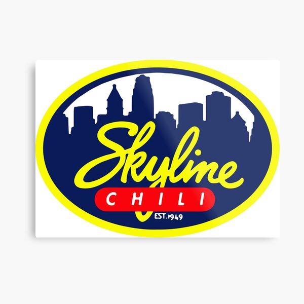 Skyline Chili Metal Print