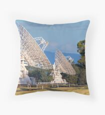 Australia Telescope Compact Array • Culgoora • New South Wales Throw Pillow