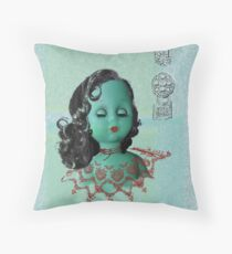 Miss Shanghai Throw Pillow