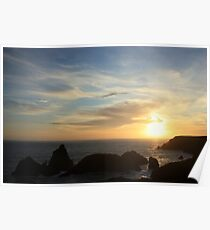 Kynance Cove Poster