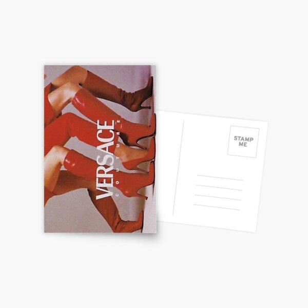 DESIGNER RED HEELS Postcard