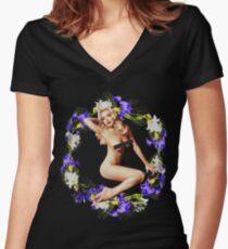 Lindsay Women's Fitted V-Neck T-Shirt