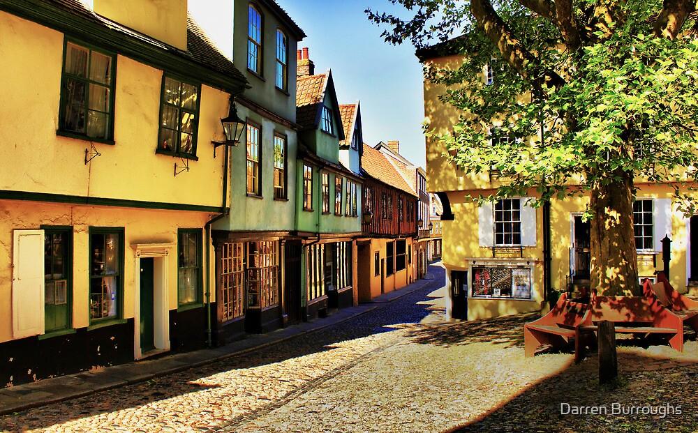 Elm Hill Norwich by Darren Burroughs