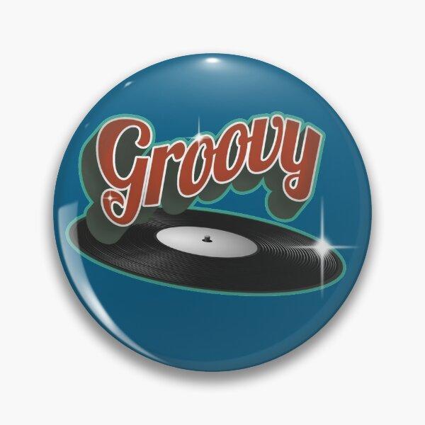 Groovy Vinyl Record Pin