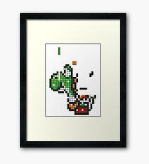 Yoshi Tetris Framed Print