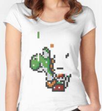 Yoshi Tetris Women's Fitted Scoop T-Shirt