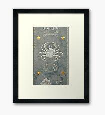 Cancer - Astrology Framed Print