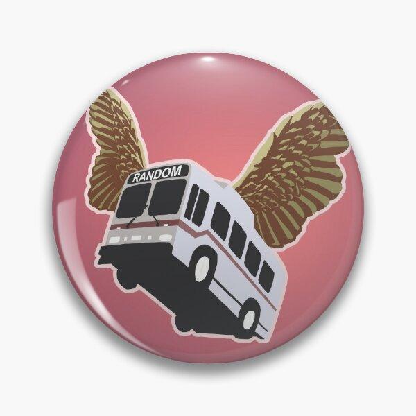 Flying Bus Pin