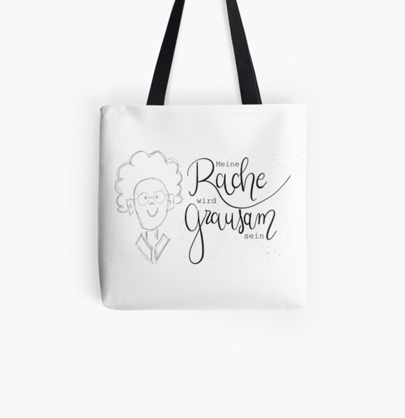Office Talk - My revenge will be cruel All Over Print Tote Bag