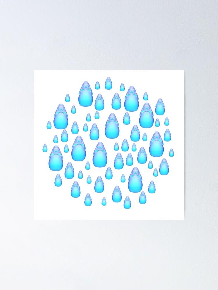 Alternate view of Rain drops company 3 Poster