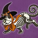 Halloween Witch Kitty by Heather Hitchman