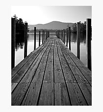 Blissful Morning on Lake George Photographic Print