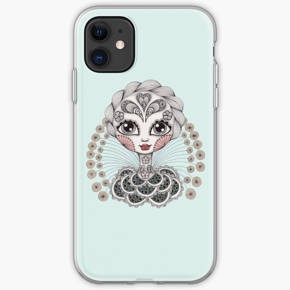 Miss Dia De Los Muertos iPhone Case & Cover