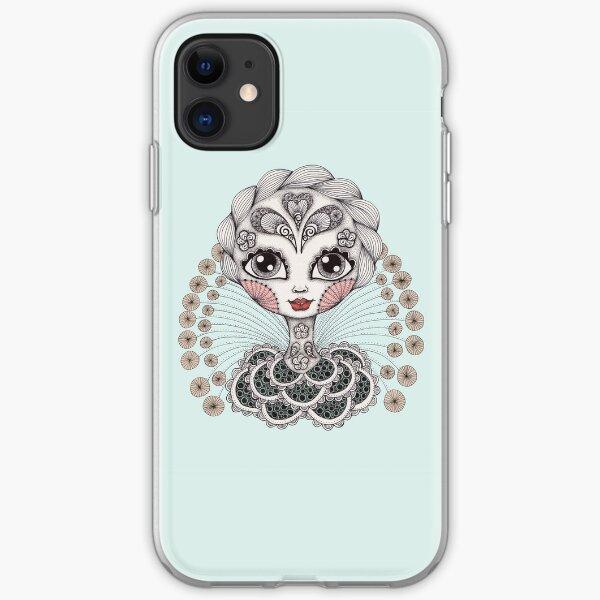 Miss Dia De Los Muertos iPhone Soft Case