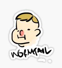 marauder wormtail Sticker