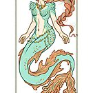 Coral Mermaid  by Heather Hitchman
