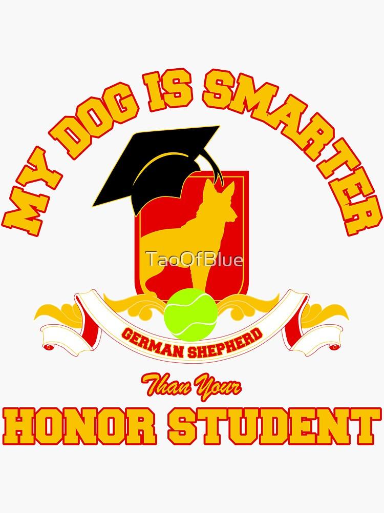 Honor Student - German Shepherd by TaoOfBlue