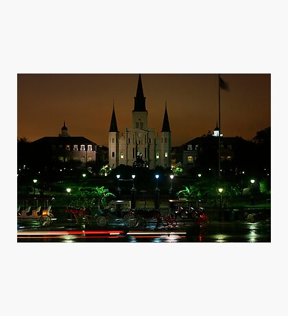 St Louis Cathedral Photographic Print