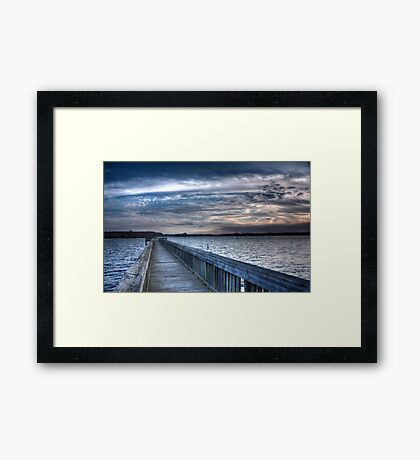 A Walk to Serenity! Framed Print