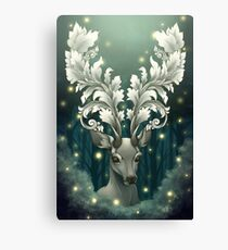 Antlers of Filigree Canvas Print