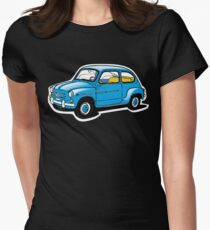 fiat 600 Women's Fitted T-Shirt