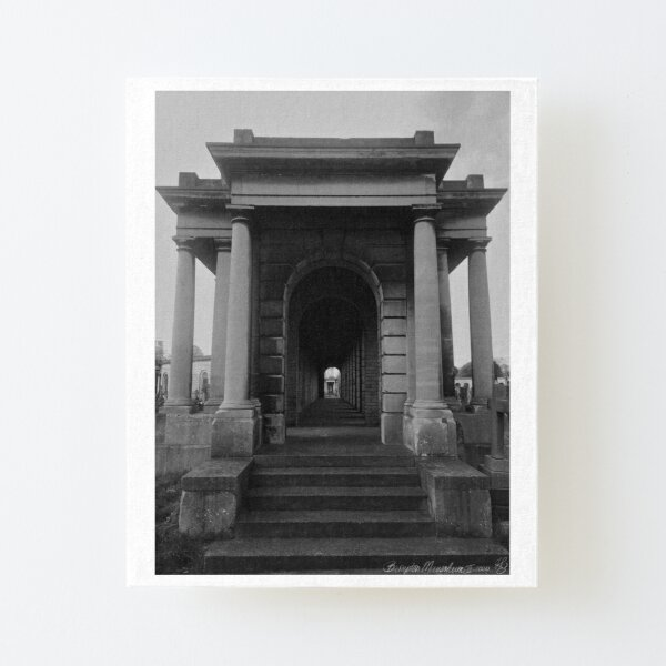 Brompton Mausoleum II  - London Canvas Mounted Print
