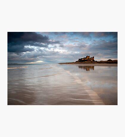 Bambrough Beach Photographic Print