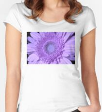My Gerbera's Turned Purple Women's Fitted Scoop T-Shirt