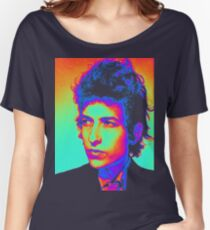 Bob Dylan Psychedelic Women's Relaxed Fit T-Shirt