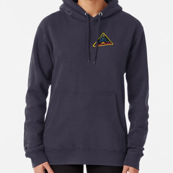 Death Cult Heavens Gate Away Team Patch Pullover Hoodie